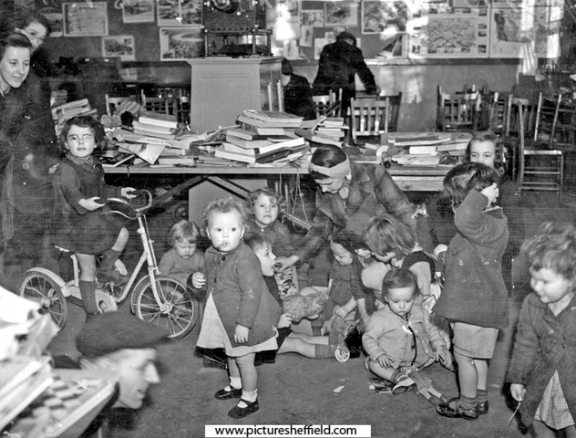 High Storrs play centre for blitzed children