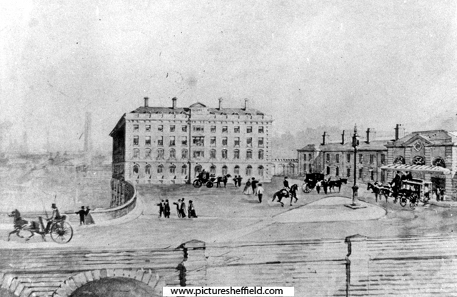 Royal Victoria Hotel and Victoria Station, Victoria Station Road