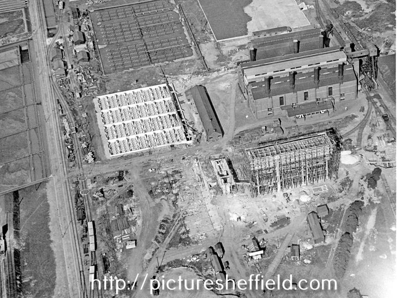 Aerial view - Blackburn Meadows Power Station