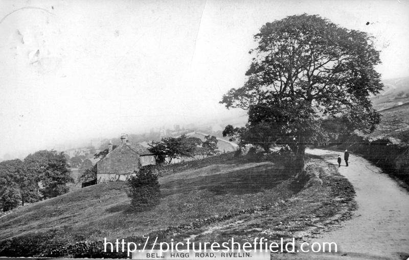 Bell Hagg Road, Rivelin, postmarked 1911