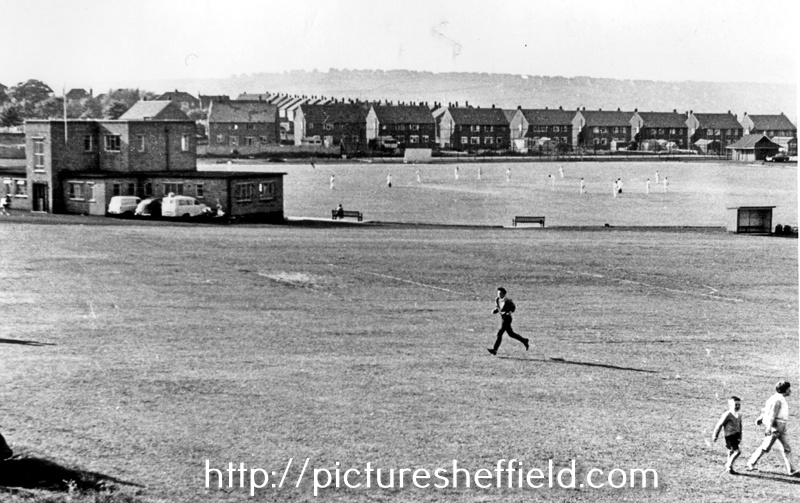 Hadfields Sports Ground taken from Bawtry Road looking towards Mapelbeck  Road