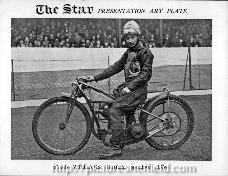 Stan Williams, Sheffield Speedway, 1939, Owlerton Stadium