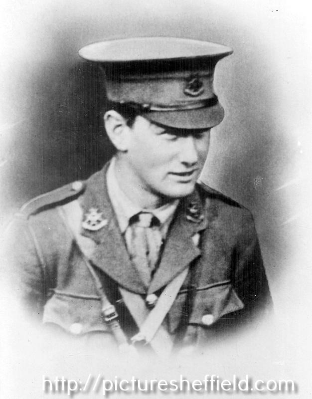 Benjamin Canning Huntsman born 1895 died 1917 France