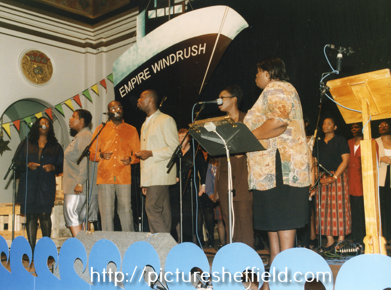 Sheffield Windrush Celebrations at Sheffield City Hall, organised by Sheffield Libraries and Information Services