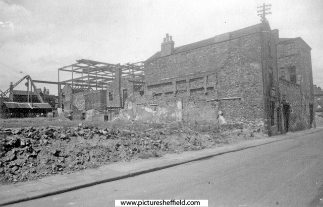 Ecclesall Gaol and Court of Requests, Tudor Street Moor (later became Thomas Street)
