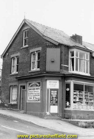 Grocers on corner of Rushdale Road and Kent Road, Meersbrook
