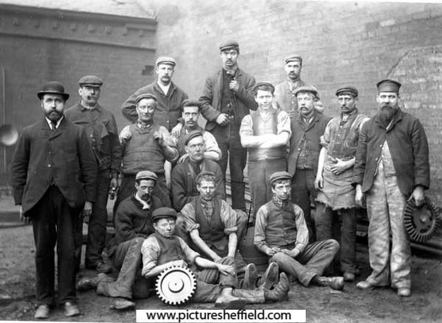 Brown Bayleys Steel Works Ltd., Foundry Workers
