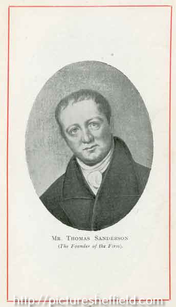 Thomas Sanderson founder of Sanderson Brothers and Co