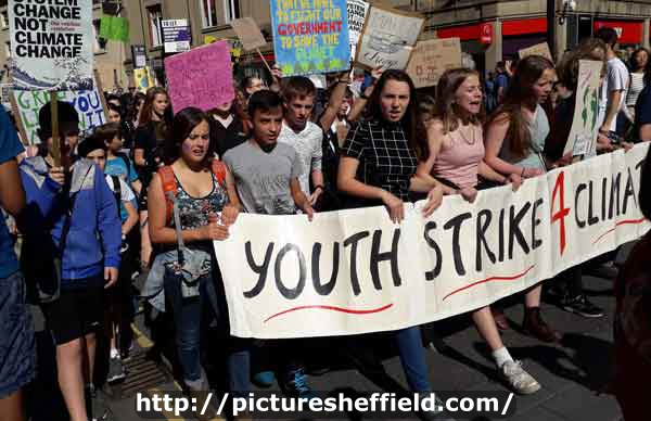 Climate Strike, Leopold Street