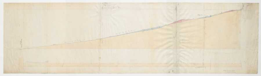 Broomgrove Road. Plan and section