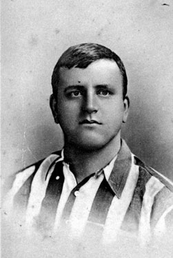 W. Foulke (1874-1916), goalkeeper, Sheffield United Football Club