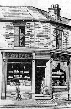 Brightside and Carbrook Co-operative Store, No. 39 Carbrook Street