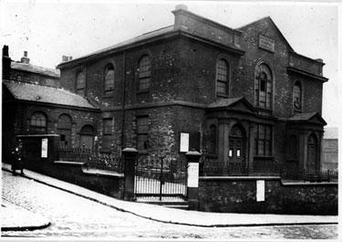 Howard Street Congregational Chapel, corner of Eyre Lane