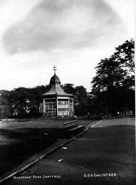 Hillsborough Park Bandstand