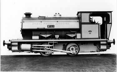 Yorkshire Engine Company, 0-4-0 ST, made for Steel, Peech and Tozer Ltd