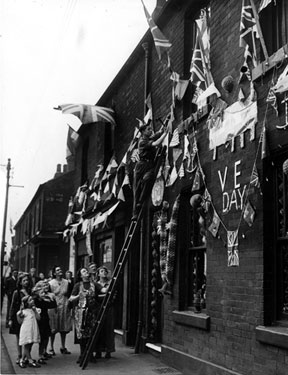 VE Day Celebrations, Penistone Road