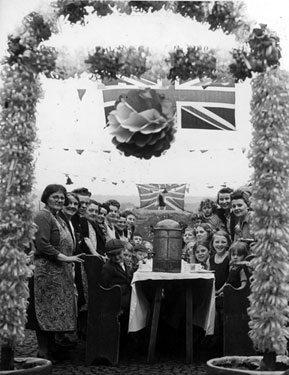 VE Day Celebrations on Greenland Road