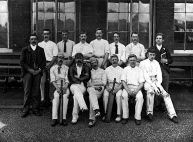 Carbrook Conservative Club Cricket Team