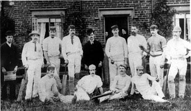 Darnall Wellington Cricket Team