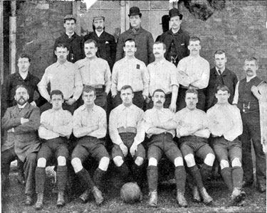 Sheffield United Football Team 1893