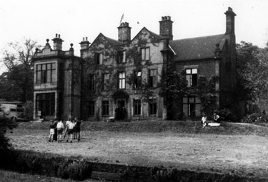 Norwood Hall (also known as Bishopholme),  N. F. S. 'B' Dv. Hq., Herries Road