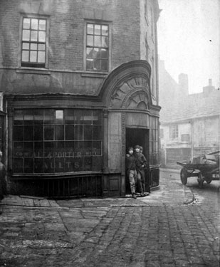 Montgomery Tavern, originally Iris Office, No. 12 Hartshead