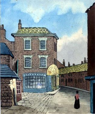 Iris Office, No. 12 Hartshead (later became Montgomery Tavern)