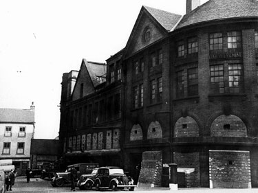 Rear of Sheffield Telegraph and Star Newspaper Offices, Kemsley House, Hartshead