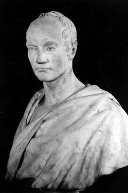 Marble Bust of Hall Overend