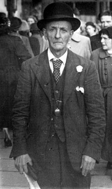 Harry Taylor know as The 'Duke of Darnall', Sheffield character