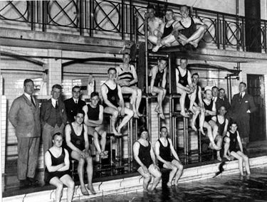Croft House Swimming Club at Hillsborough