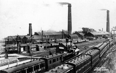 Yorkshire Steel and Iron Works, Penistone Steel Works, Cammell Laird Ltd.