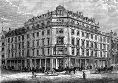 Cole Brothers, Department Store, Fargate/Church Street