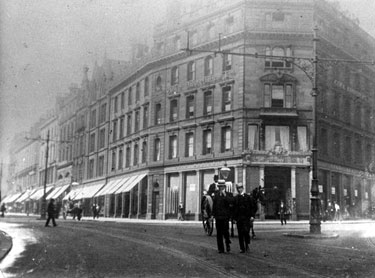 Cole Brothers, Department Store, Fargate  / Church Street