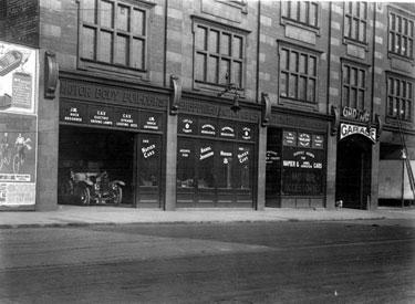 Sheffield Motor Co. Ltd., Motor Engineers, 218-238, West Street