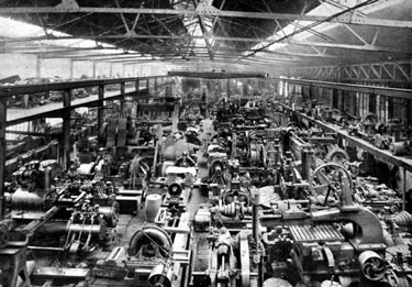 Steel Industry, Example of the Machinery Bays, showing machinery overhauled ready for delivery