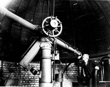 Telescope, Weston Park Museum Observatory
