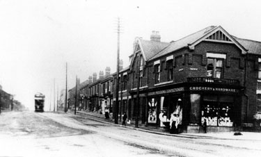 Brightside and Carbrook Co-operative Society Ltd., Tinsley Branch, Sheffield Road and junction of  Bawtry Road