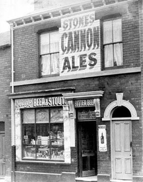 No 148, Grammar Street, Walkley, John Samuel Parkes, Grocer