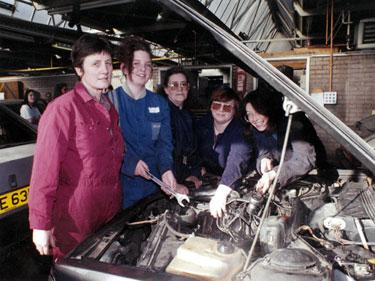 Women Motor Mechanics