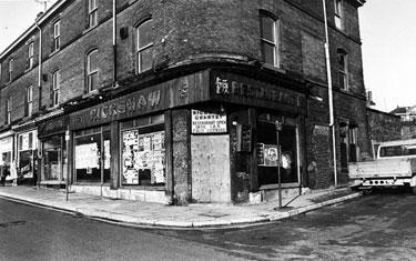 No. 150/2, Rickshaw Restaurant, Devonshire Street and the junction with Eldon Street