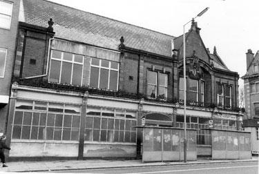 Edgar Allen Physical Treatment Centre originally named Edgar Allen Institute from Glossop Road