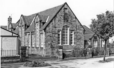 Greenhill School (originally built by Norton School Board 1872; formerly Greenhill Council School, School Lane, Greenhill, used as an Annexe to Jordanthorpe School and Community Centre for Youth Training