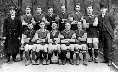 Sharrow Cycling Football Club, 1912-13