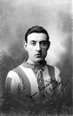 Tom E. Cawley, Local footballer who played for Sheffield Wednesday (1882-1891) and Sheffield United