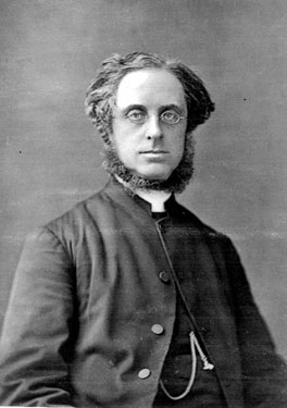 Rev. Samuel George Potter, Vicar of St. Lukes Church and Doctor in Theology