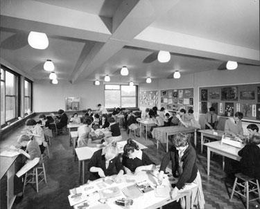 Craftroom, St Pauls Roman Catholic Secondary School, Granville Road