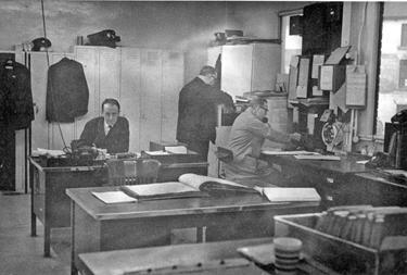 Depot Inspectors Offices, Sheffield Transport Depot, Tenter Street, mid 1960's