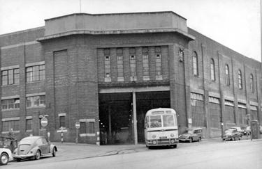 Sheffield Transport Depot, Tenter Street, mid 1960's