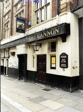 The Cannon Public House, No 30, Castle Street